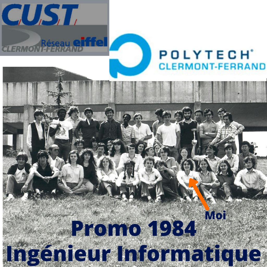 Promo 1984 Ingénieur Informatique CUST